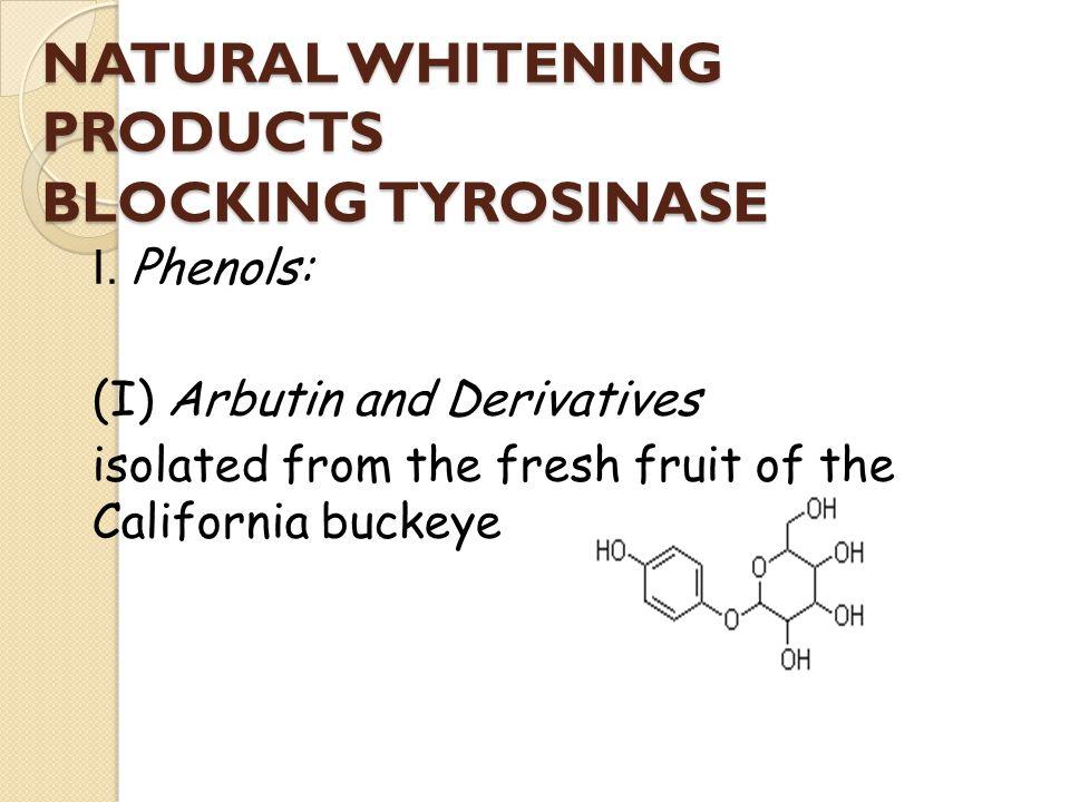 NATURAL WHITENING PRODUCTS BLOCKING TYROSINASE I.
