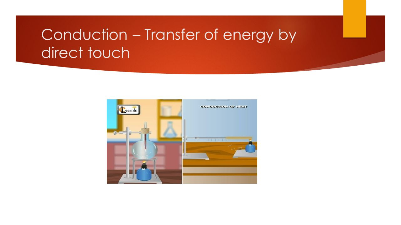 Convection – Heat energy transfer in a fluid with the warmer rising, cooling and then falling.