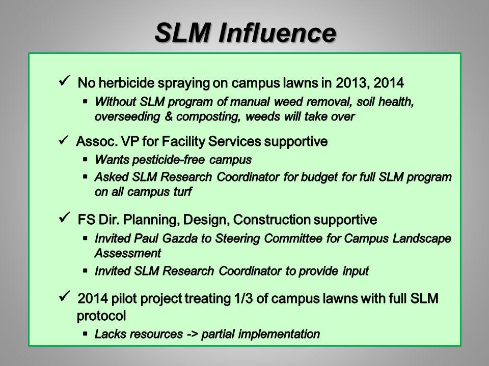 SLM Influence