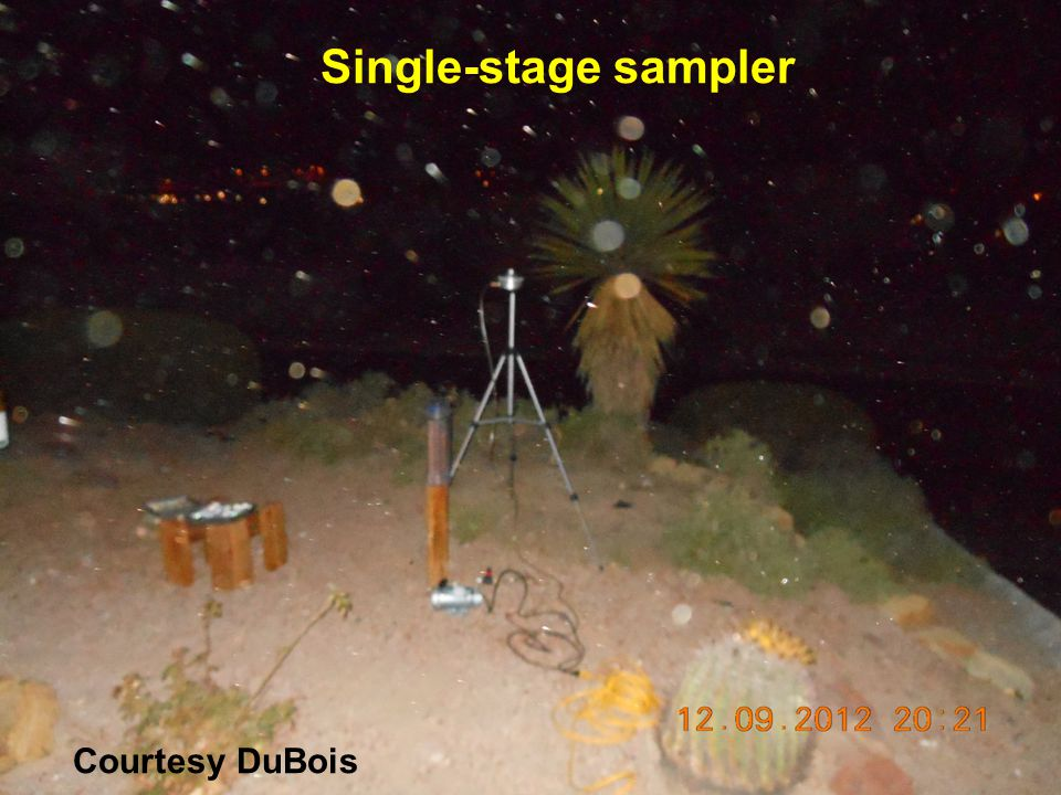 Single-stage sampler Courtesy DuBois