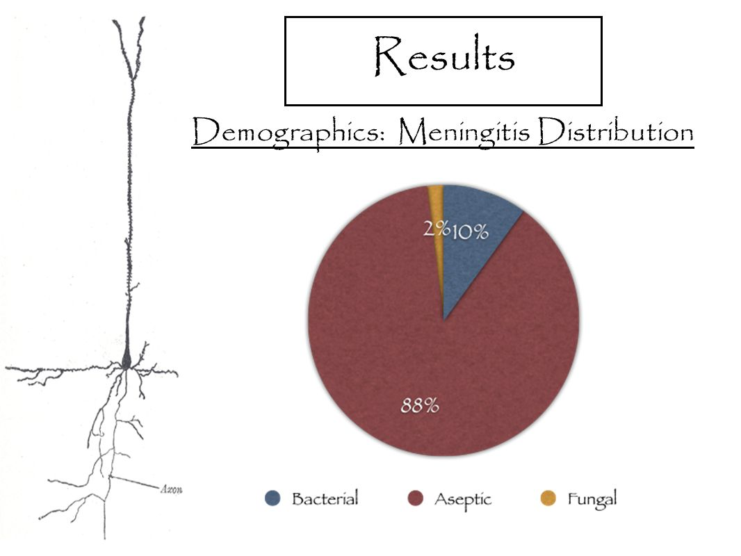 Results Demographics: Meningitis Distribution