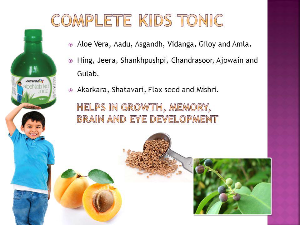  Aloe Vera, Aadu, Asgandh, Vidanga, Giloy and Amla.