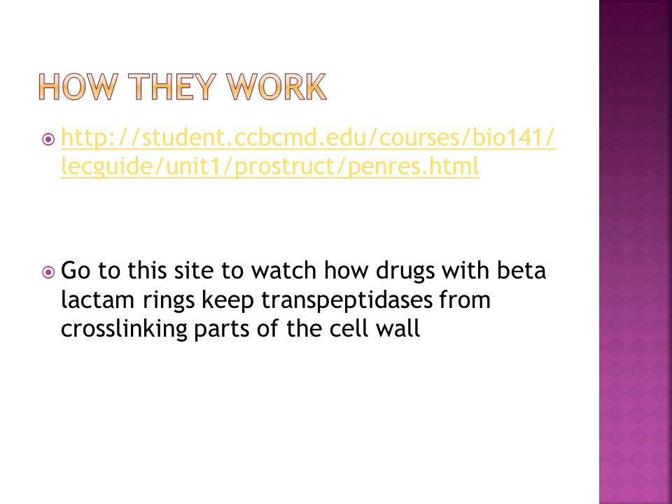  http://student.ccbcmd.edu/courses/bio141/ lecguide/unit1/prostruct/penres.html http://student.ccbcmd.edu/courses/bio141/ lecguide/unit1/prostruct/pe