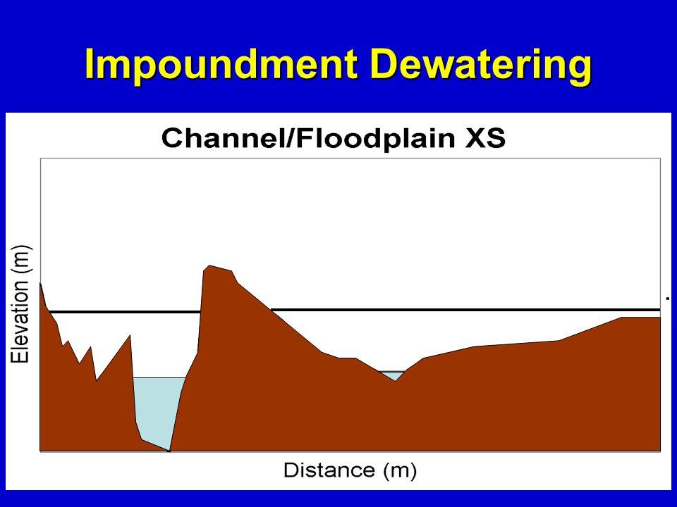 Impoundment Dewatering