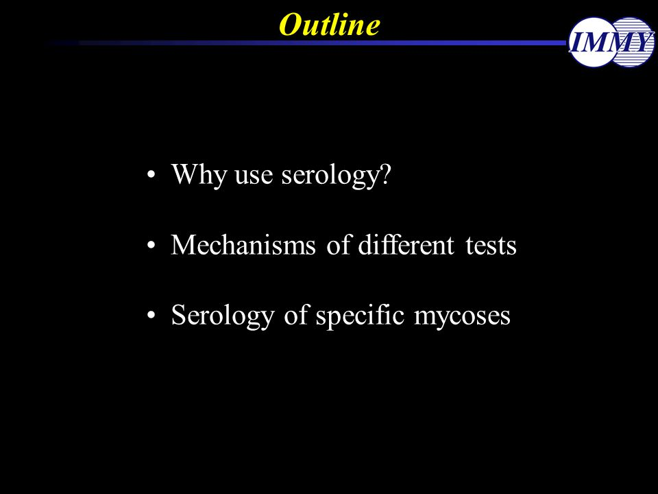 Why Use Serology For Case Finding.