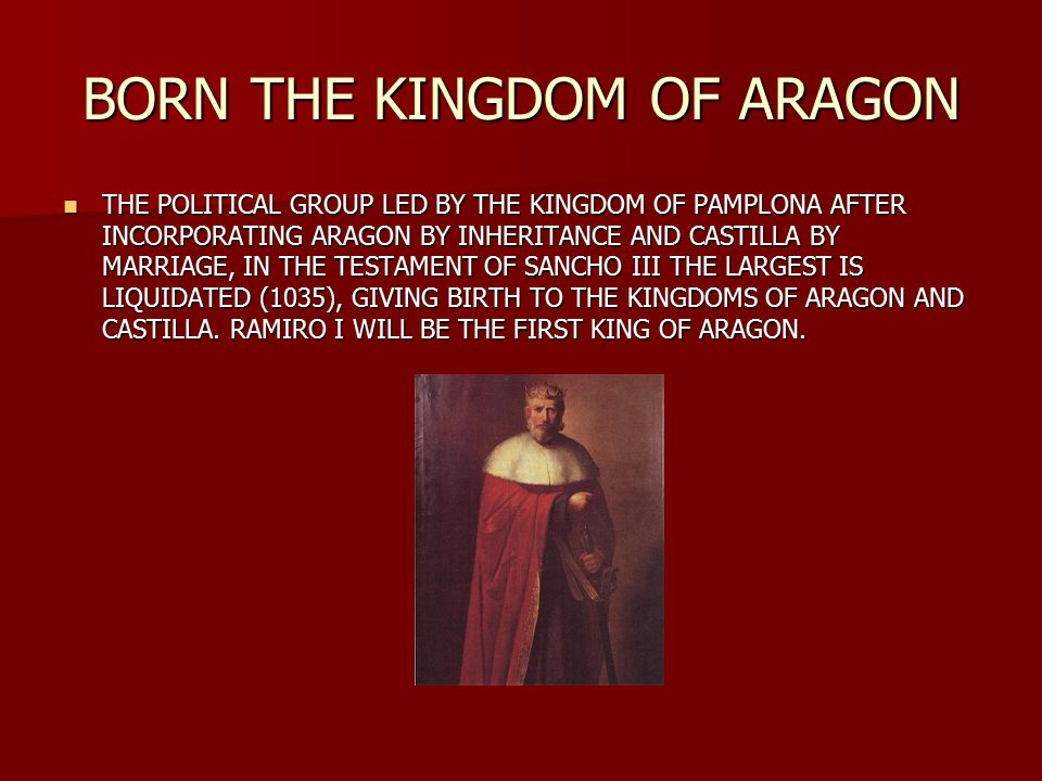 THE ARAGONESE COUNTIES AND PAMPLONA ARE SEPARATED FRANKISH LINK  Aznar Galíndez will be the first count of independent Aragon, at the beginning of the 9th century.