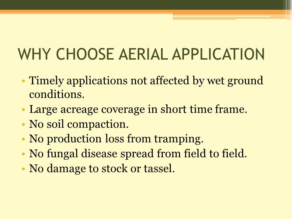 Transport Canada Operating Certificate A number of legal requirements must be in place before operating an aerial spray service.