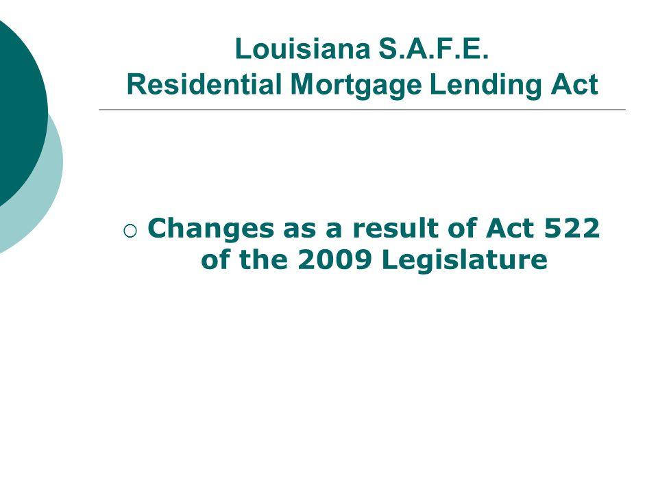 Louisiana S.A.F.E.