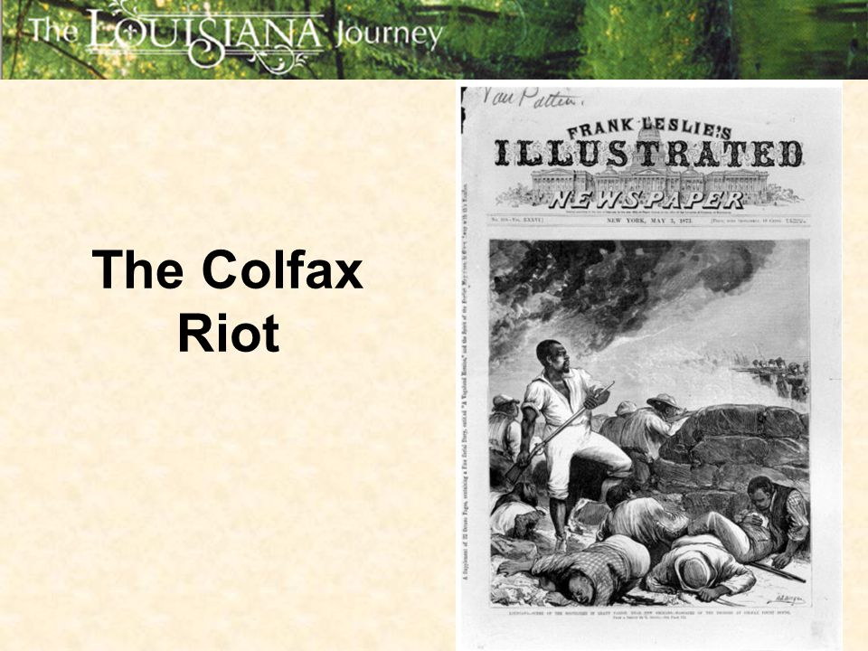 The Colfax Riot