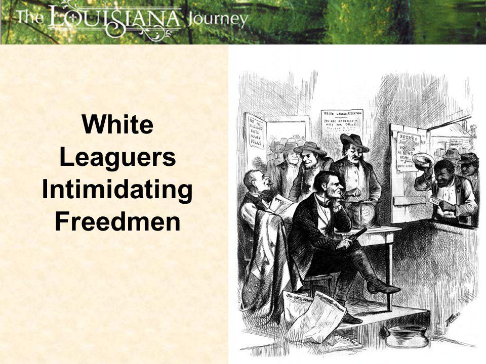 White Leaguers Intimidating Freedmen
