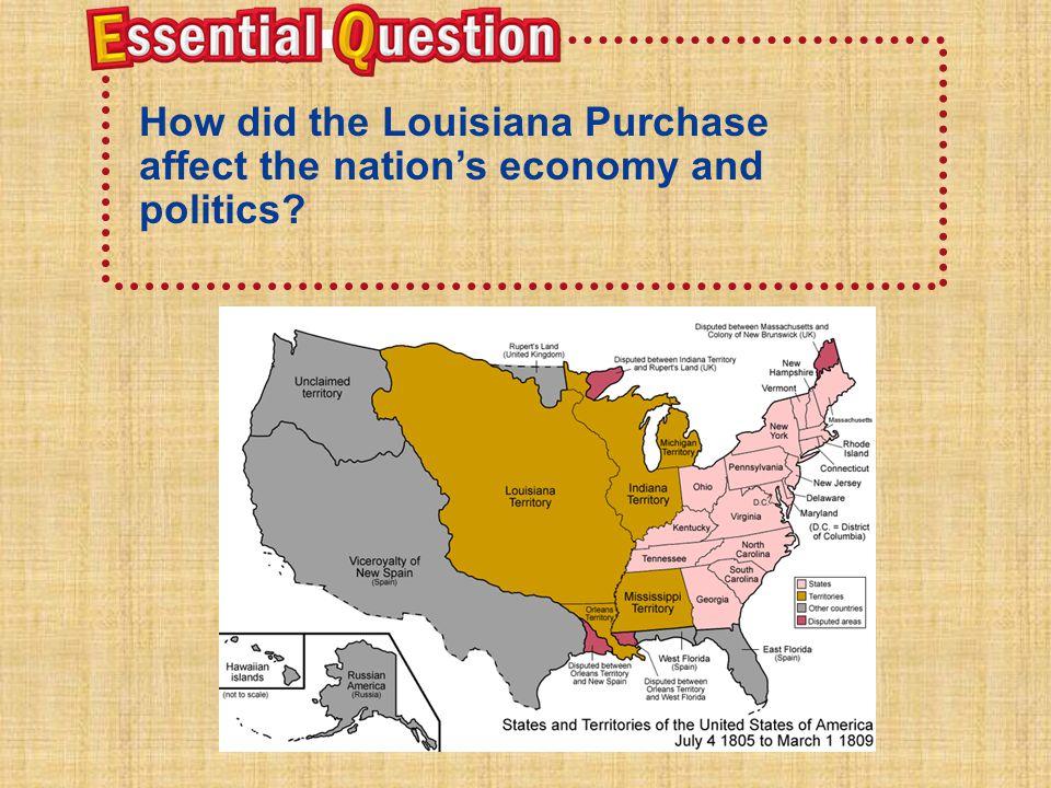 After it was secretly transferred, the Louisiana Territory belonged to A.Louisiana.