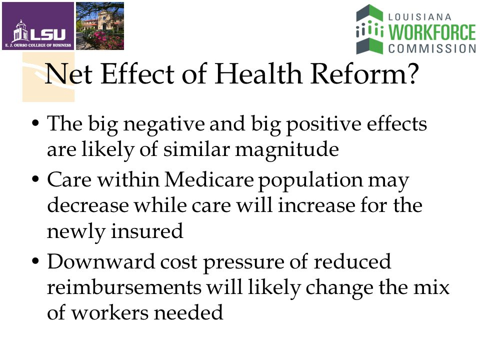 Net Effect of Health Reform.