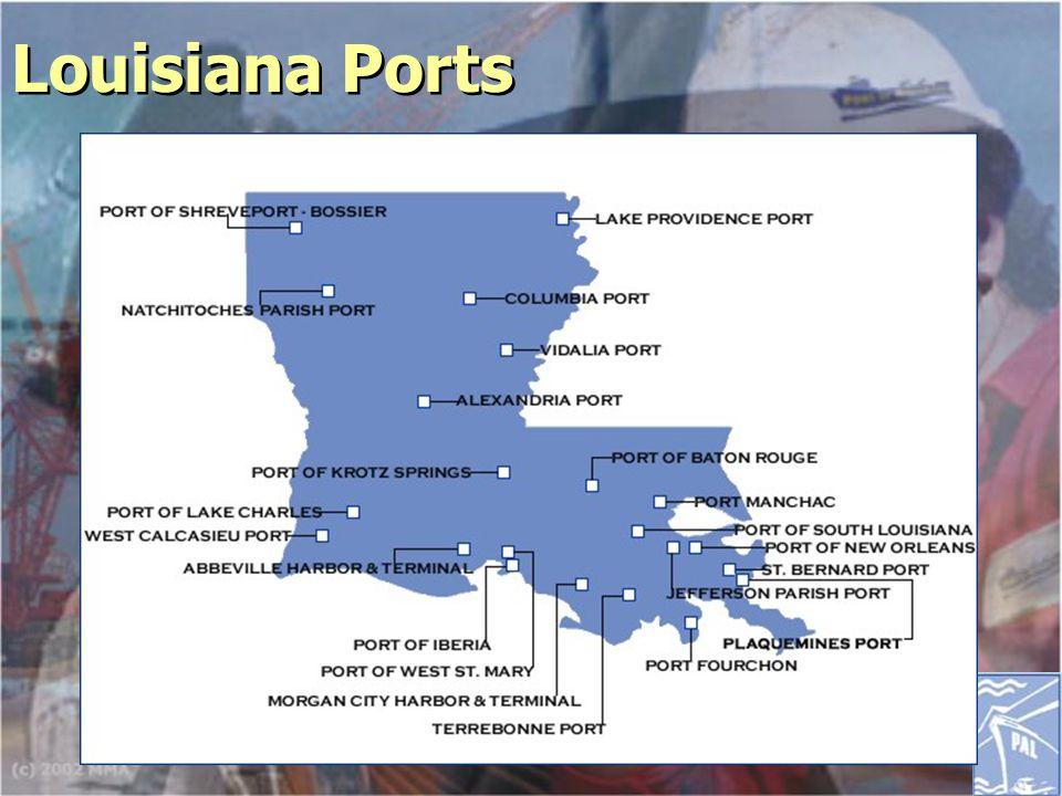Louisiana Ports