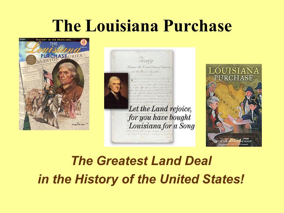 Why Does Napoleon Want Louisiana.