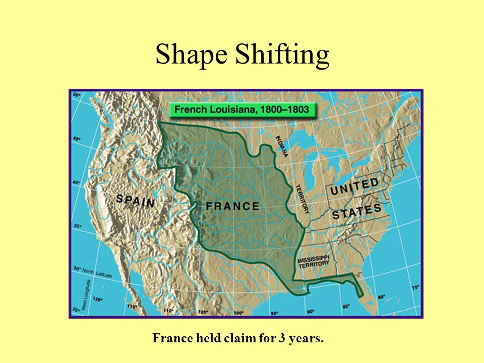 Shape Shifting France held claim for 3 years.