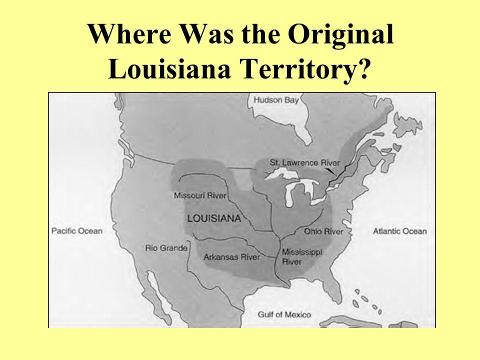 Napoleon's Scheme His scheme includes the recapture of Louisiana from a very weak Spain.