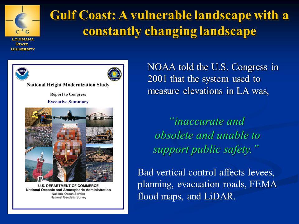 LouisianaStateUniversity NOAA told the U.S.