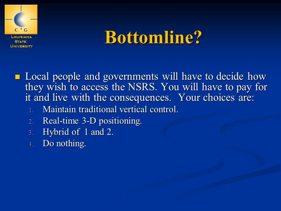 LouisianaStateUniversity Bottomline.