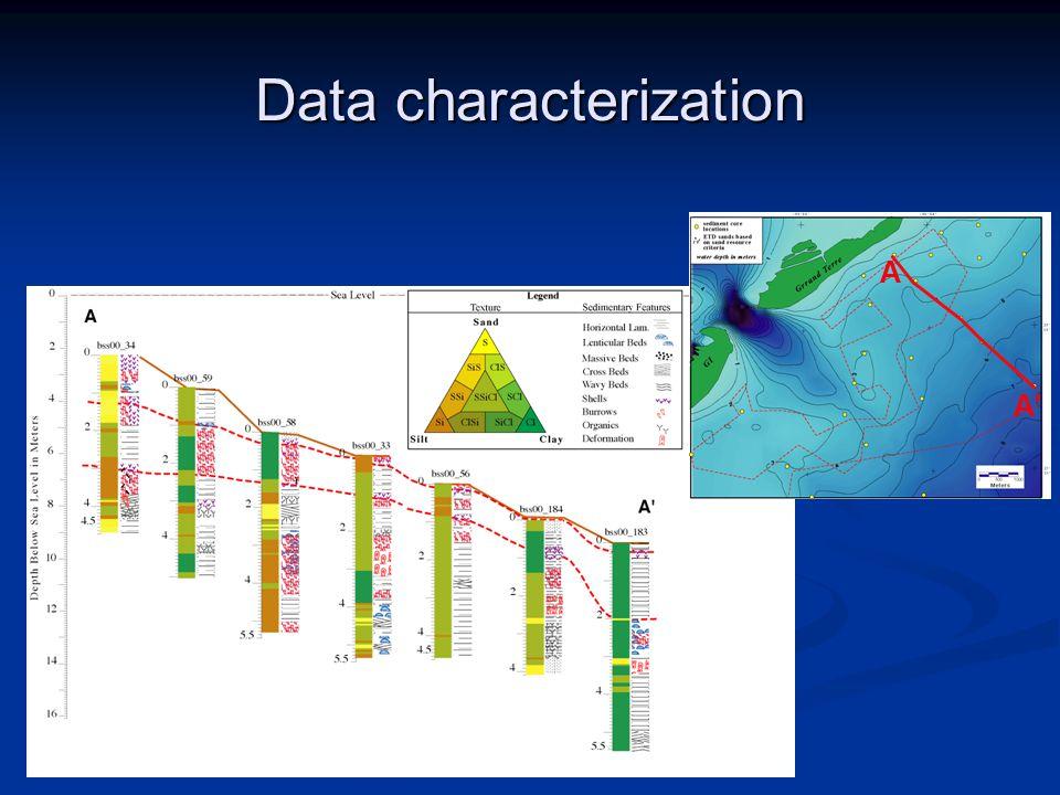 Data characterization A A'