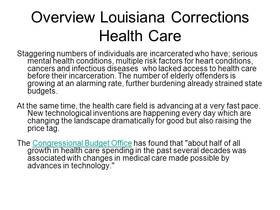 Snapshot of Louisiana According to the Federal Bureau of Justice & Statistics, Louisiana has the highest offender death rates in the country.