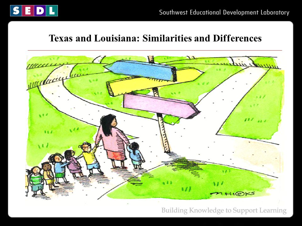 Texas and Louisiana: Similarities and Differences