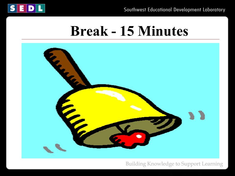 Break - 15 Minutes