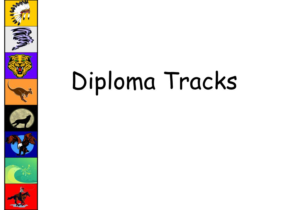 Diploma Tracks