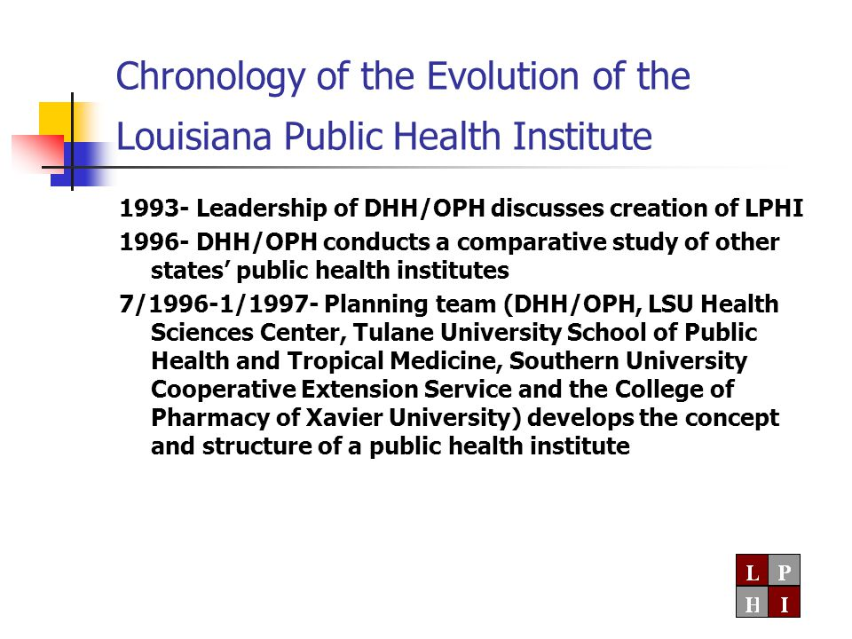 Center for Applied Population- Based Research  Conduct research to identify specific modifiable factors that influence health  Conduct demonstration trails of health improvement interventions in selected communities, with an evaluation component to determine their effectiveness  Develop recommendations for public health programs based on the results of this research  Communicate the results of the research with key groups