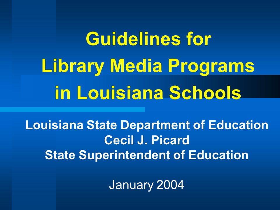 AREA 2: INFORMATION ACCESS STANDARD 9 The library media program provides flexible and equitable access to resources and information for all members of the school learning community.
