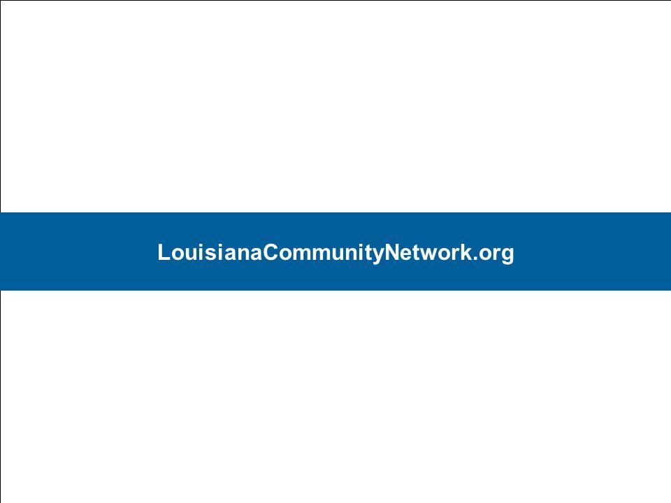 20 LouisianaCommunityNetwork.org
