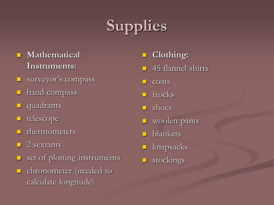 Supplies Mathematical Instruments: Mathematical Instruments: surveyor's compass surveyor's compass hand compass hand compass quadrants quadrants teles