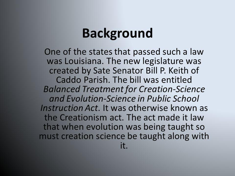 Background Don Aguillard was a high school advanced biology teacher in Louisiana.