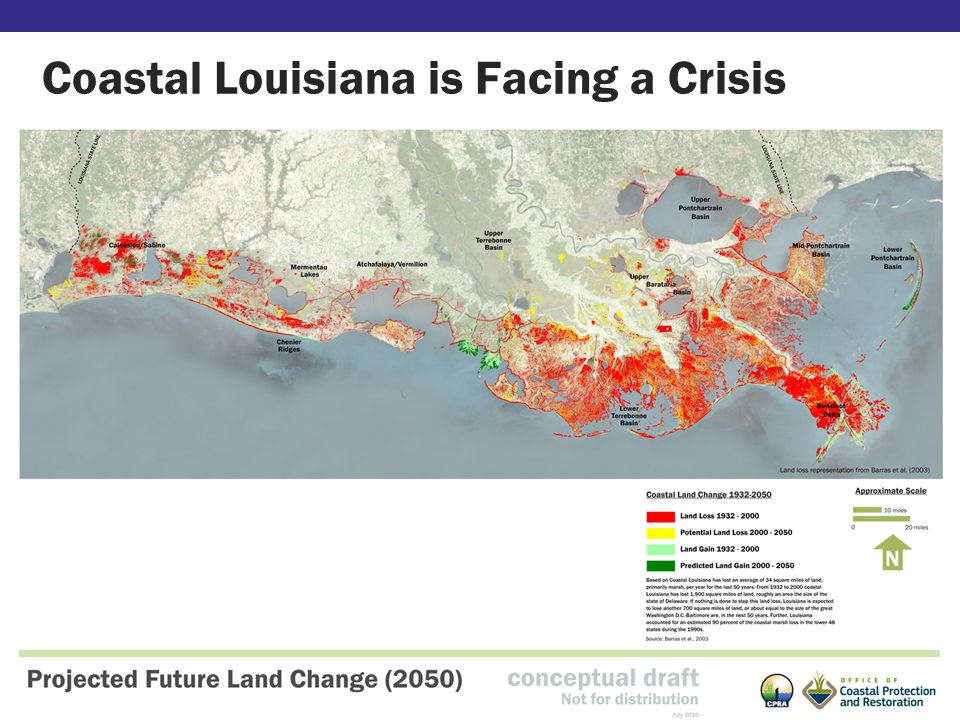 Coastal Louisiana is Facing a Crisis