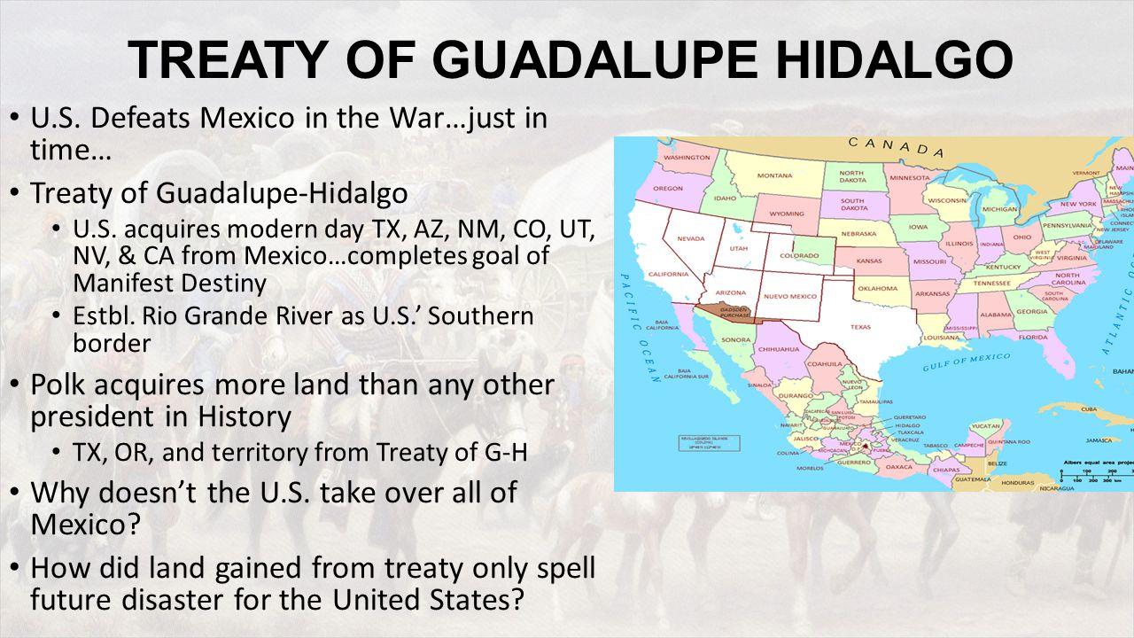 TREATY OF GUADALUPE HIDALGO U.S.