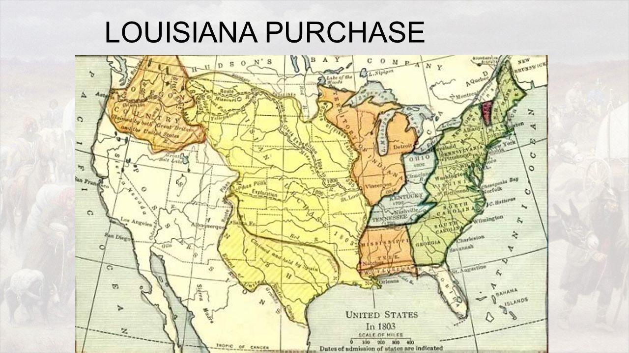 Jefferson and the Louisiana Purchase Who: U.S.
