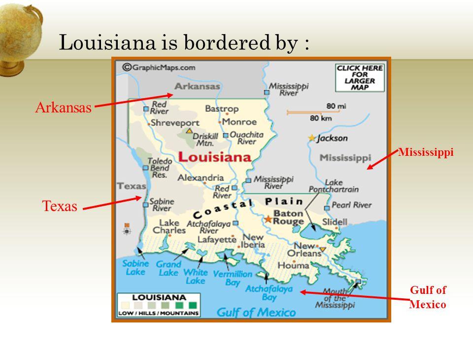 Louisiana has 5 Regions