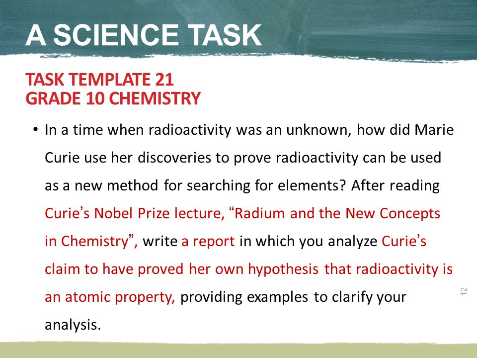 In a time when radioactivity was an unknown, how did Marie Curie use her discoveries to prove radioactivity can be used as a new method for searching for elements.