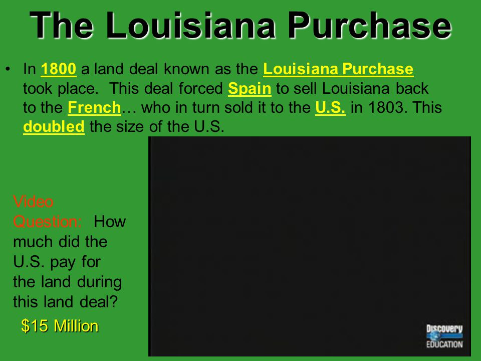 12 The Threat Continues… U.S. Settlers began moving west towards the Mississippi River and some even moved into Spanish Territory in Louisiana. BUTSpa