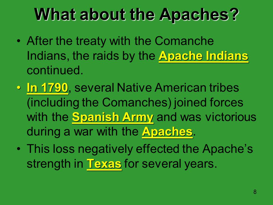 7 Changes in the Indian Policies mission system Plains Indians giftsBecause the mission system failed in keeping peaceful relations with the Plains In