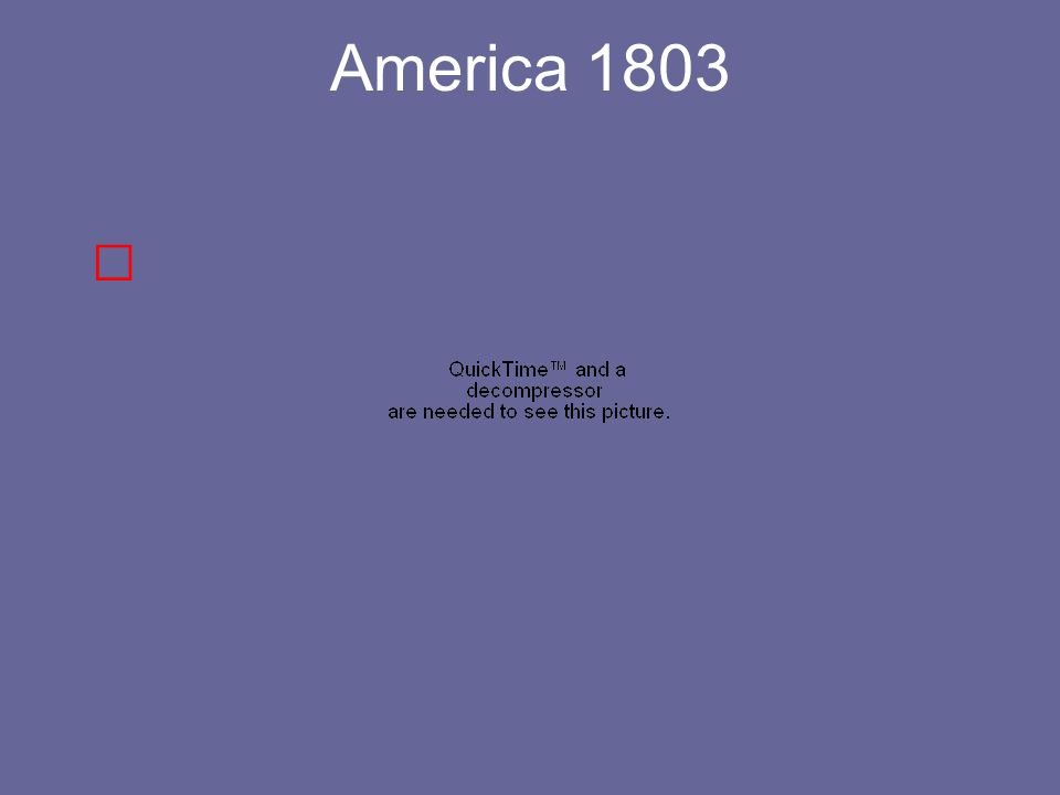 America 1803