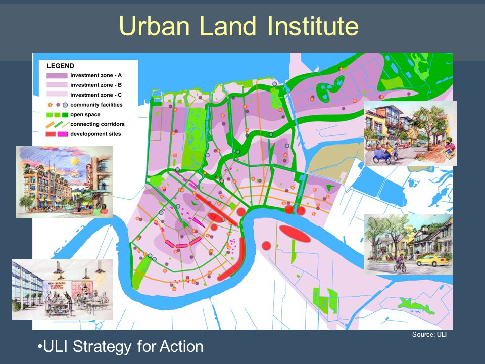 Urban Land Institute ULI Strategy for Action Source: ULI
