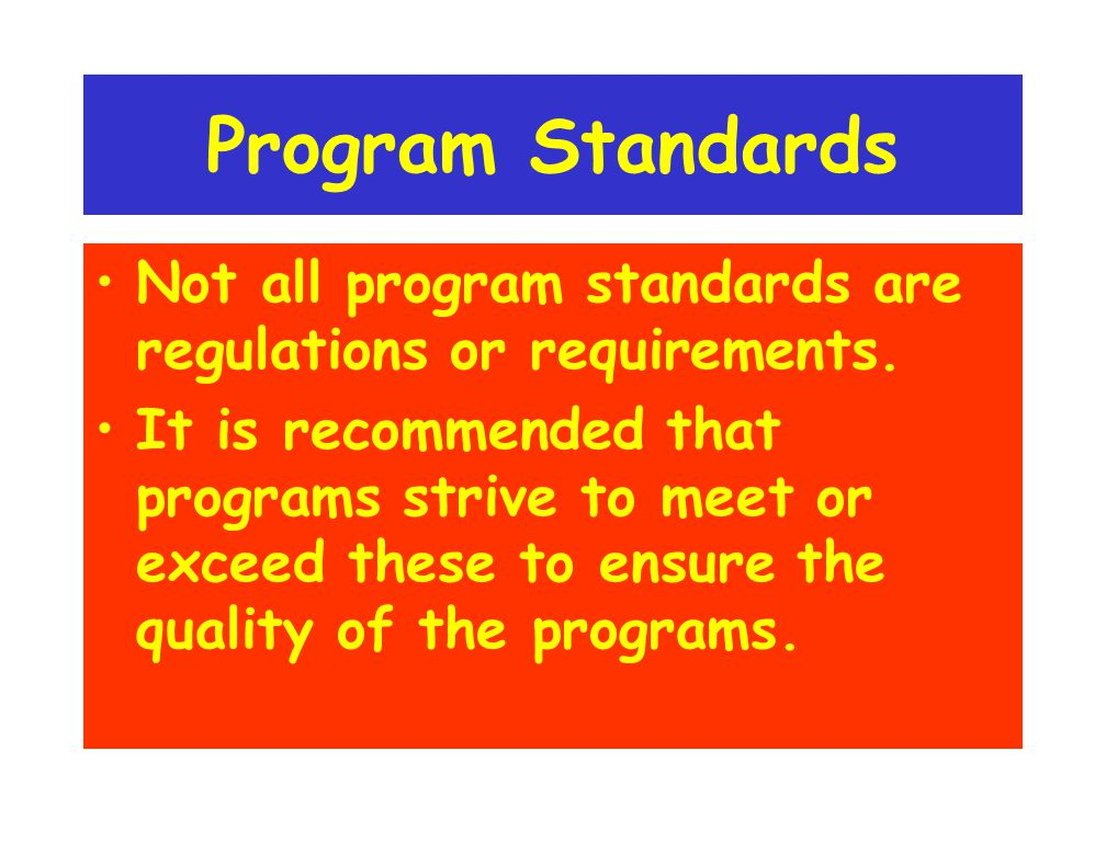 Content Standards Are Not: An Assessment Tool