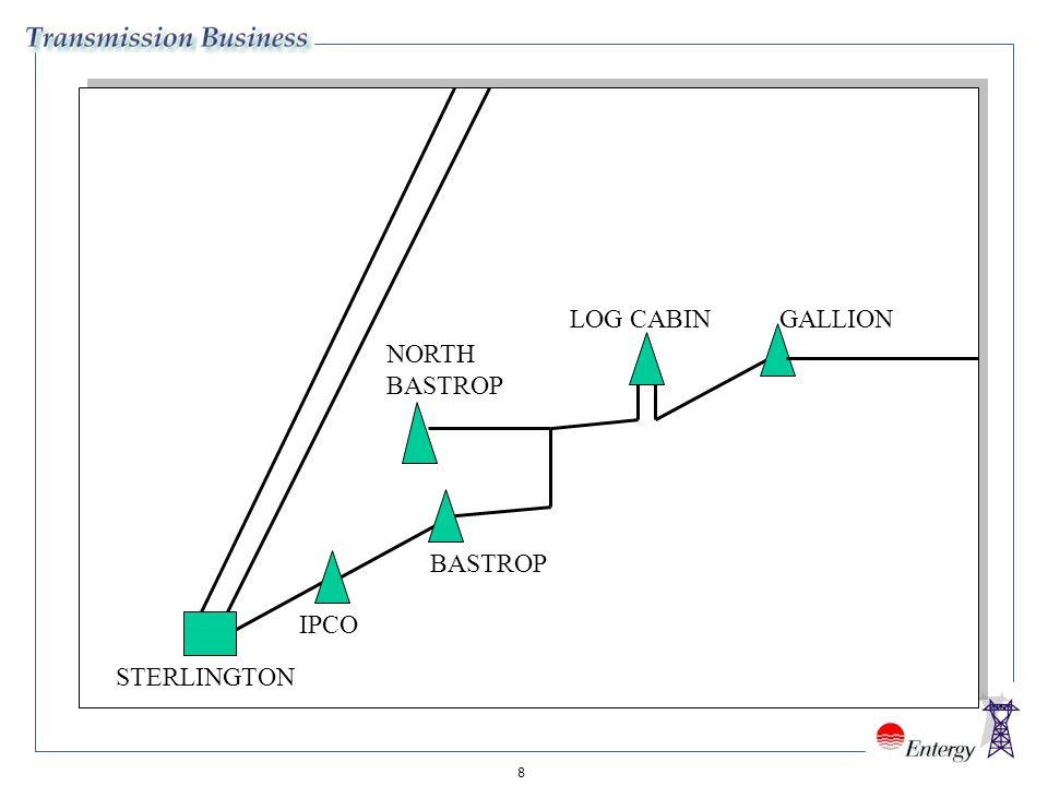 8 IPCO BASTROP NORTH BASTROP LOG CABINGALLION STERLINGTON