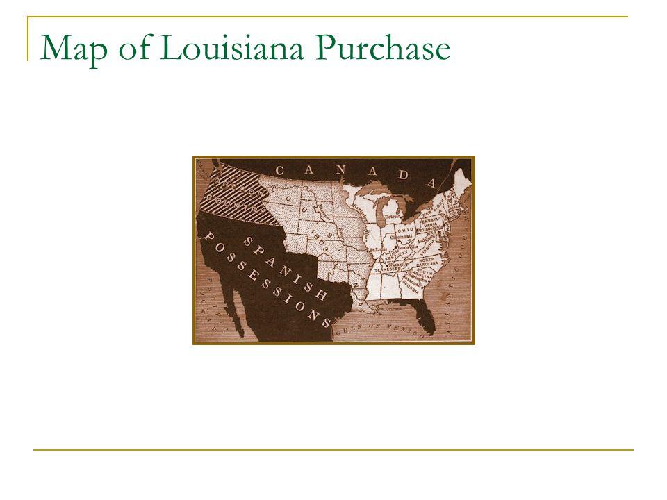 Map of Louisiana Purchase