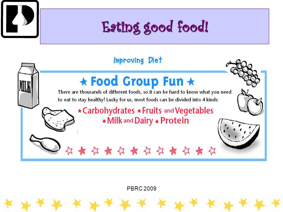 PBRC 2009 20 of 30 Eating good food!