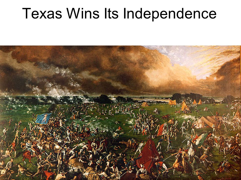 Texas Wins Its Independence