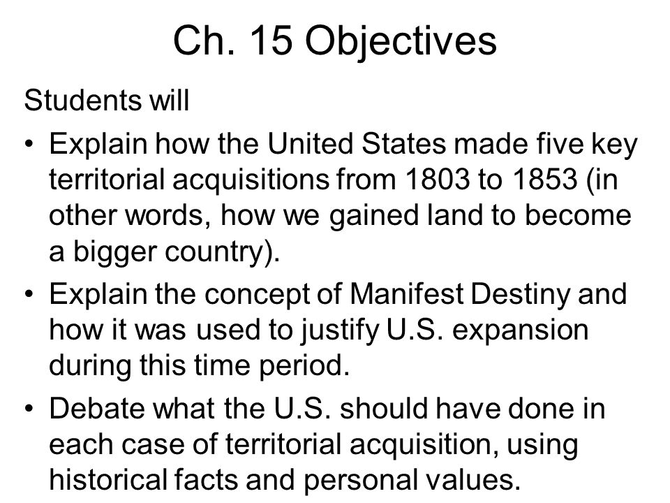 In 1853, the U.S.acquired more land from Mexico in the Gadsden Purchase.