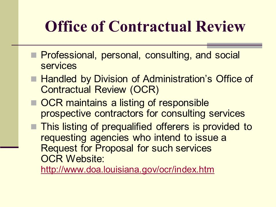 Office of Facility Planning and Control (OFPC) Responsible for the administration of the Capital Outlay budget.