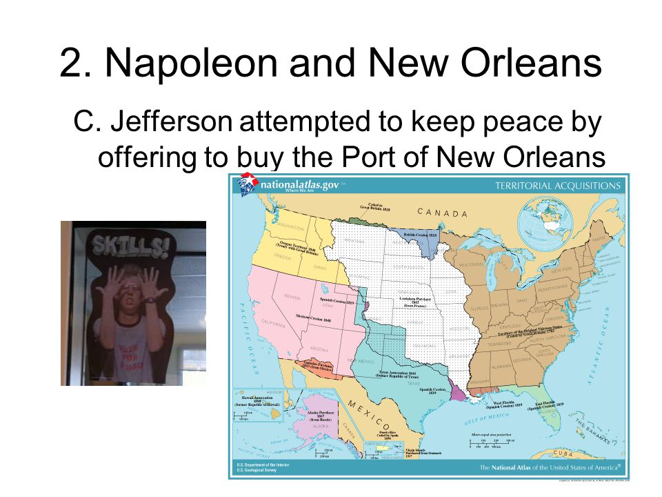 2. Napoleon and New Orleans C.