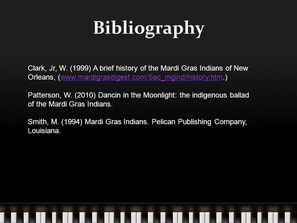 Bibliography Clark, Jr, W.